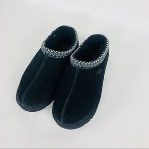UGG MENS BLACK TASMAN slippers shoes size 11
